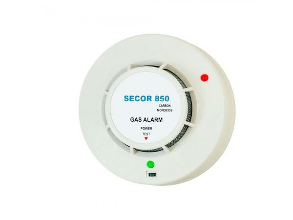 Detector de monoxid de carbon Secor 850, 5 ani durata de viata, transport gratuit