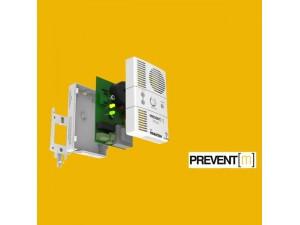 Detector de gaz metan Prevent M cu electrovalva de alama 1/2, echipament complet, transport gratuit
